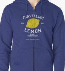 Travelling Lemon World Championship 2012 Zipped Hoodie