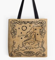 Mermaid Tarot: The Moon Tote Bag