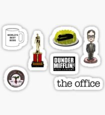 The Office Sticker Pack- The Office Stickers Sticker