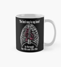 The Best Way to My Heart - Reverse Image Classic Mug
