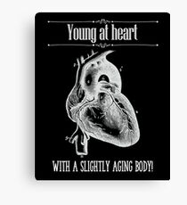 Young At Heart - Reverse Image Canvas Print