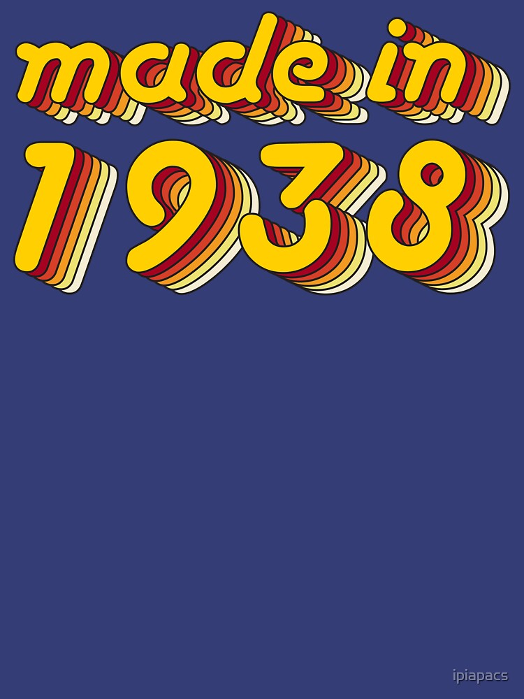 Made in 1938 (Yellow&Red) by ipiapacs