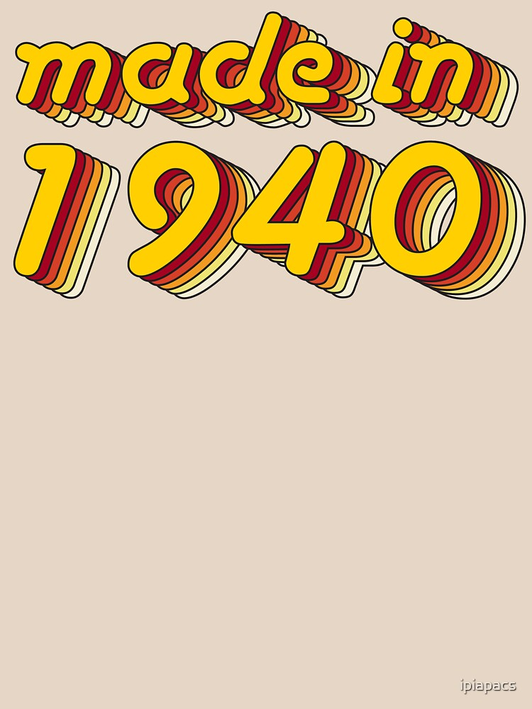 Made in 1940 (Yellow&Red) by ipiapacs