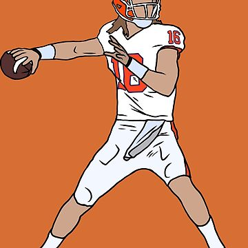 Trevor Lawrence Clemson by RatTrapTees