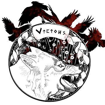 Vicious Wolf by dariasart