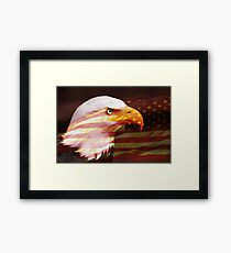 America keep your eyes on the stars Framed Print