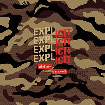 Explicit lettering by hypnotzd