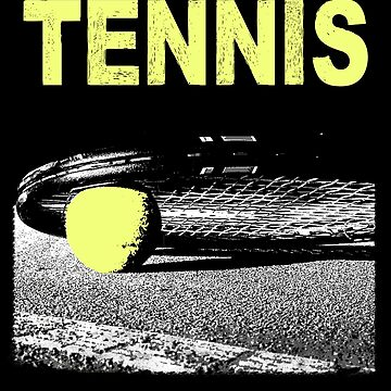 Tennis Tennis Player Ball Sports Sports Gift by Rueb