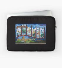 Austin Postcard mural Laptop Sleeve