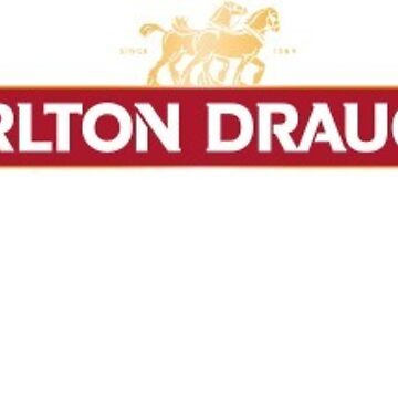 Carlton Draught - Brewery Fresh Tank Beer by Connorlikepie