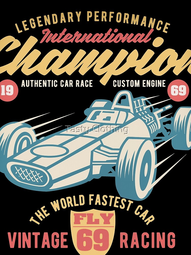 FLY69 Vintage 1969 Racing International Champion by Deadscan