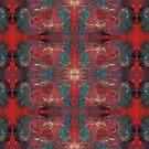"""""""pat_tho"""" - SDTho_Art: oil pastel, abstract, digital pattern by sdthoart"""
