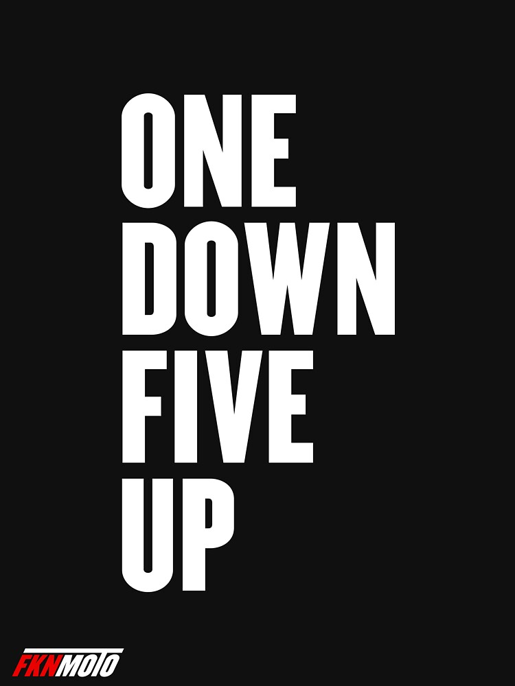 One down five up by fknmoto