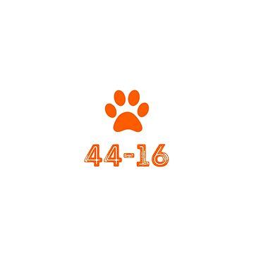 44-16.  You know the score Clemson fans! by KenRitz