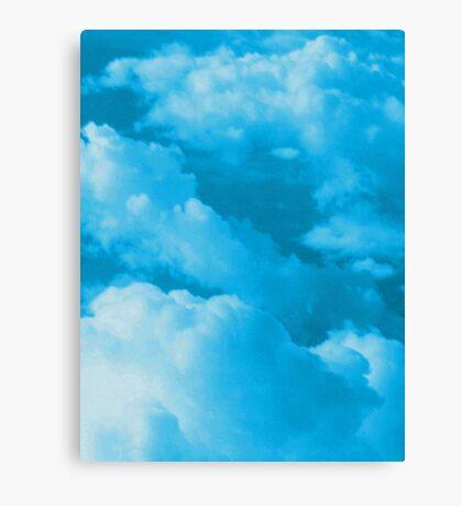 Cloudscape photo painting Canvas Print