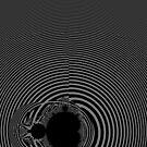 Monochrome Mandelbrot  2018-12-29-024 by Rupert Russell