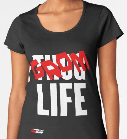 Grom Life Premium Scoop T-Shirt