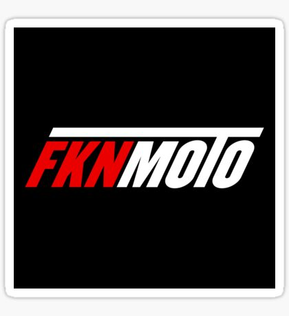 fknmoto Sticker