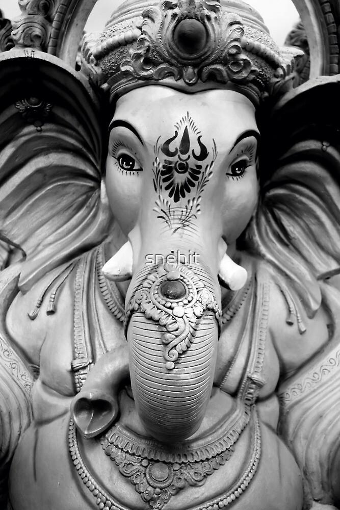 Ganesha by snehit