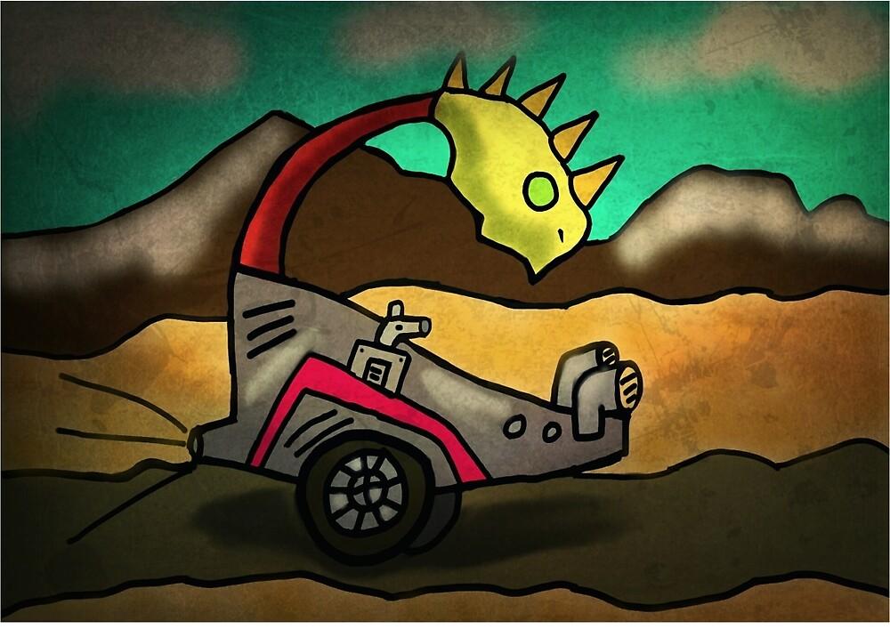 wierd ride  by StuartBoyd