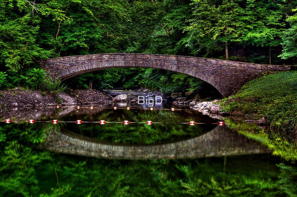 Bridge Over Still Water by BigD