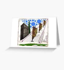 Monsters on the loose Greeting Card
