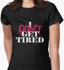 Camiseta entallada para mujer No me canso #idgt idgt