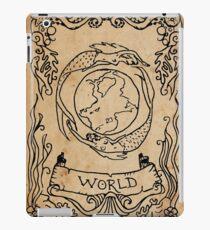 Mermaid Tarot: The World iPad Case/Skin