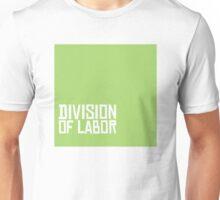 Division of Labor Logo (Pea Soup Version) Unisex T-Shirt