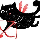 Cupid cat by shizayats