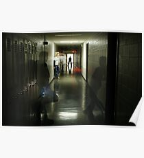 Ghostly Corridor Poster