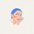 It Girl, girly illustration by uzualsunday