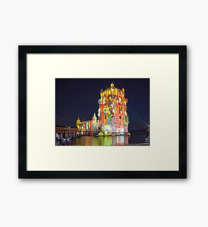 Torre de Belém. 500 years. Framed Print