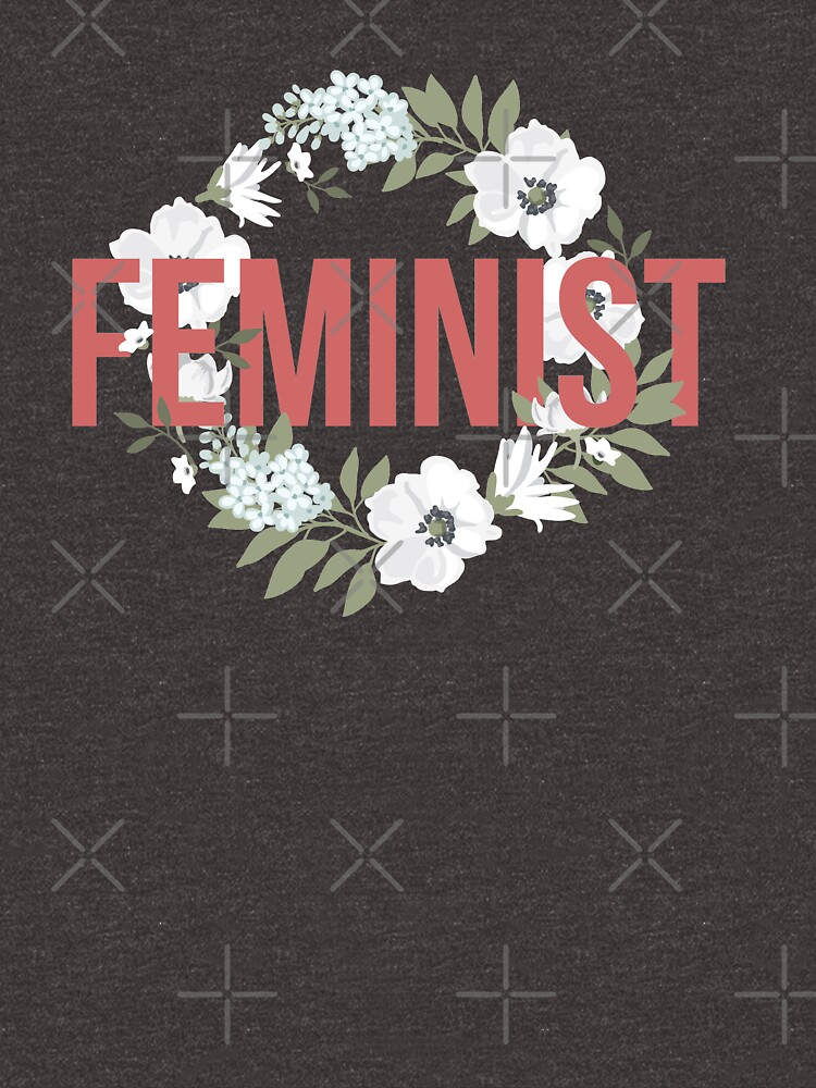 Floral Feminist Shirt by feministshirts