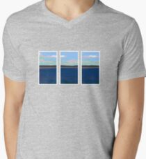 Ocean View - Triptych Mens V-Neck T-Shirt
