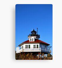Drum Point Light House Canvas Print