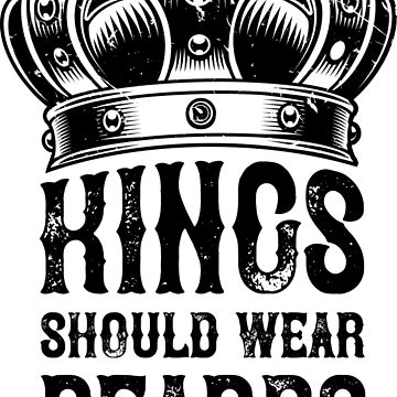Kings should wear the beards, I could take the job by netrok