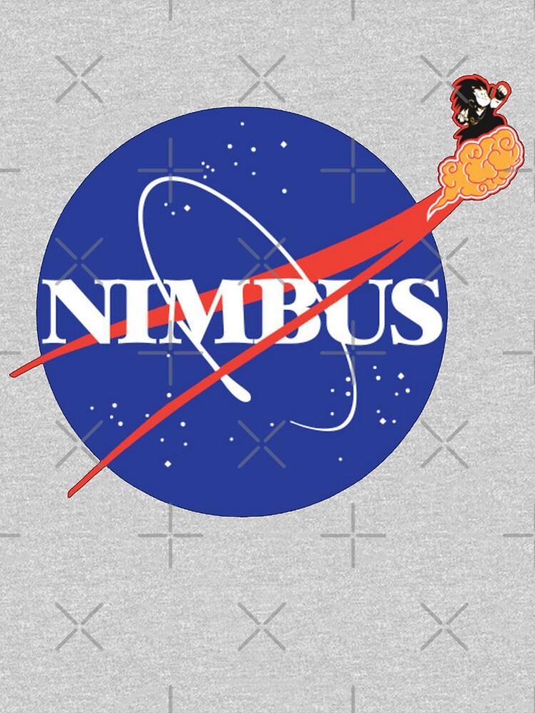 Dragon Ball - Nimbus NASA Goku Space by SenorFiredude