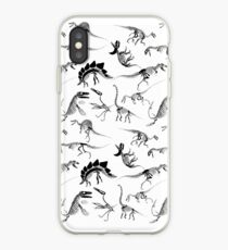 Dinosaurier-Skelett-Diagramme iPhone-Hülle & Cover