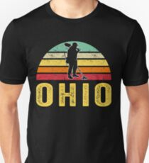 Ohio Treasure Finding Apparel Metal Detecting Gift Unisex T-Shirt
