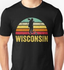 Wisconsin Treasure Finding Apparel Metal Detecting Gift Unisex T-Shirt