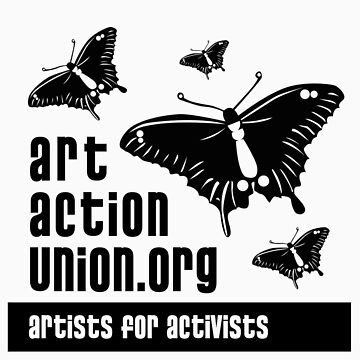 Official Art Action Union Merchandise - Tshirt by artactionunion