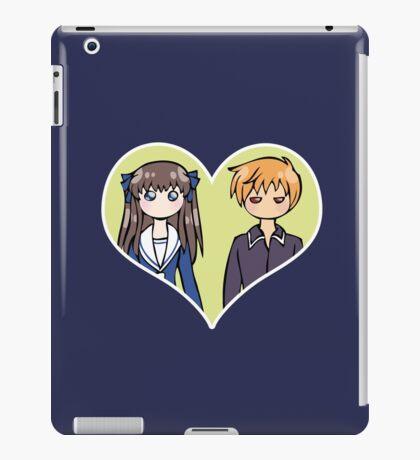 Tohru and Kyo - shipping dolls iPad Case/Skin