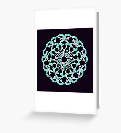 Flower of Truth Greeting Card