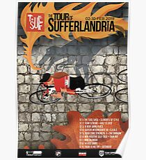Póster Recorrido del cartel de Sufferlandria 2019 - Jinete femenina