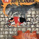 Tour of Sufferlandria 2019 Poster - Male Rider by GvA The Sufferfest