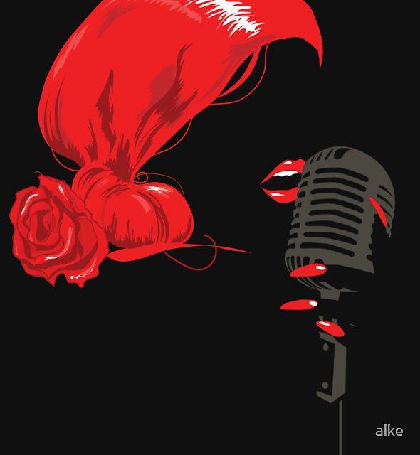 Miss Jazz by alke