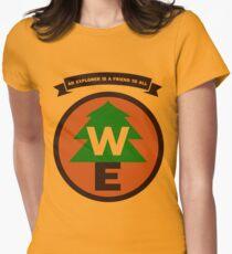 Wilderness Explorer Women's Fitted T-Shirt