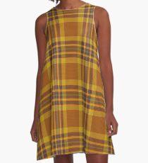 Tartan pattern A-Line Dress