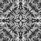 Black And White Geometric by Phil Perkins
